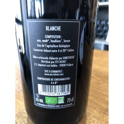 biere blanche bio 75 cl