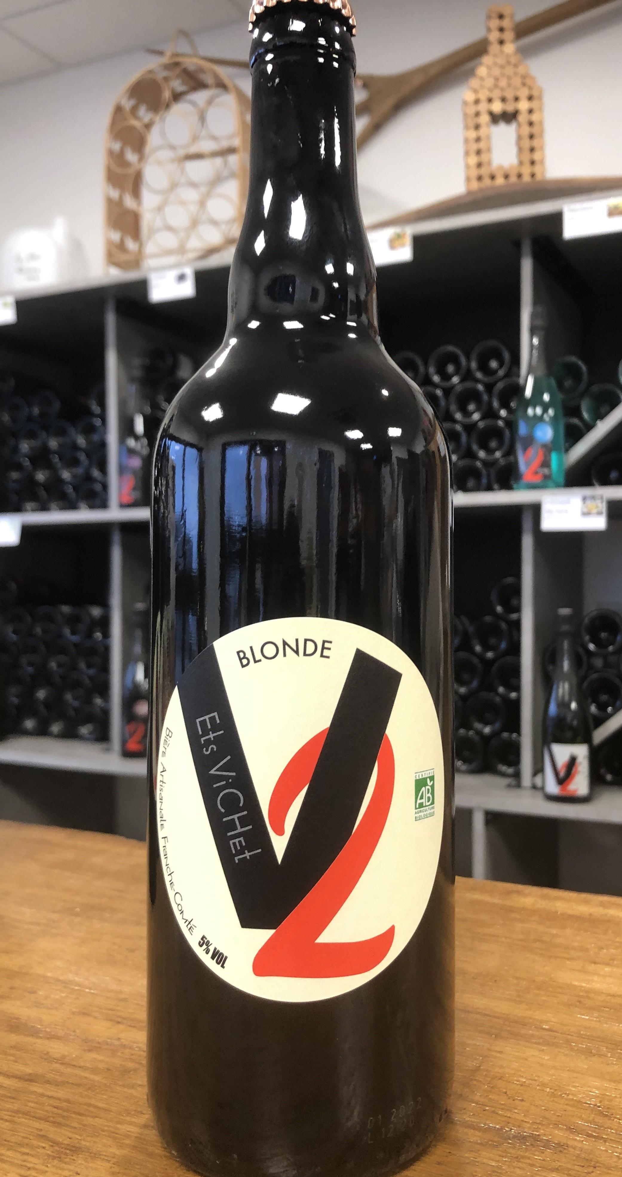 biere blonde BIO 75 CL